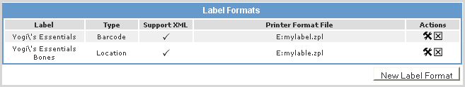 Products/Labels